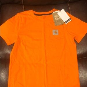 NWT Carhartt Shirt with Pocket size 6